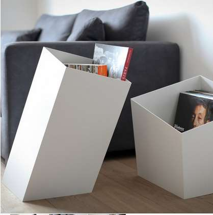 Angled Space-Saving Baskets
