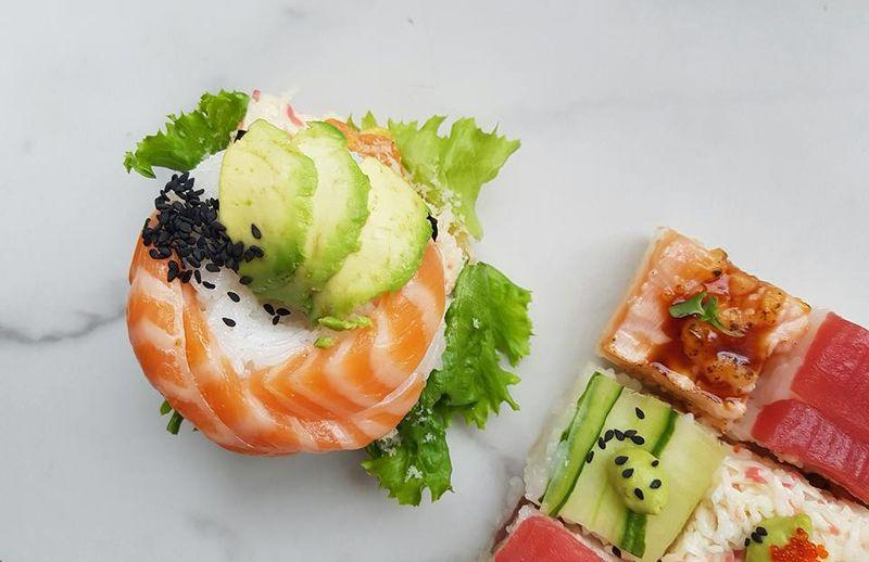 Artistic Sushi Shops