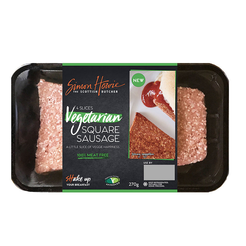 Meatless Square Sausages