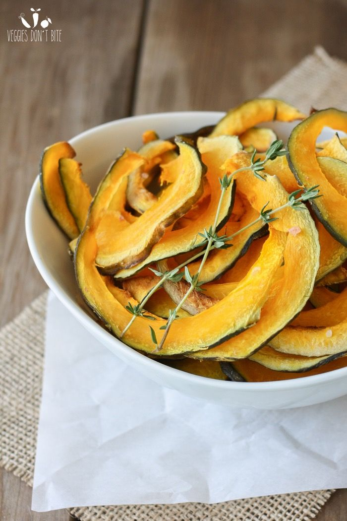 Sliced Squash Chips