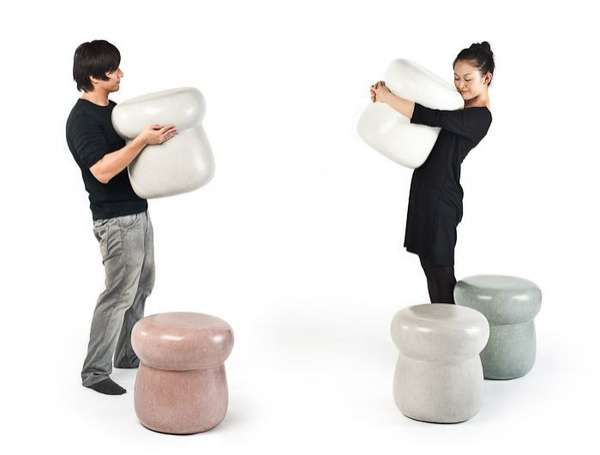 Simple 'Shroom Seating
