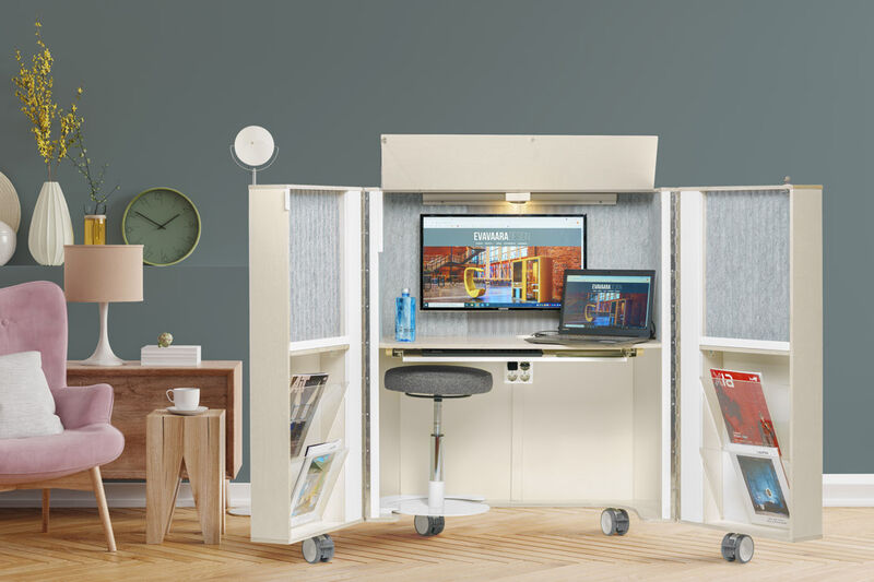 Concealable Home Office Units