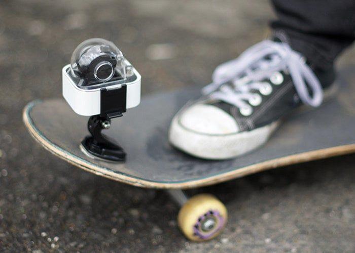 Mechanical Stabilization Action Cameras