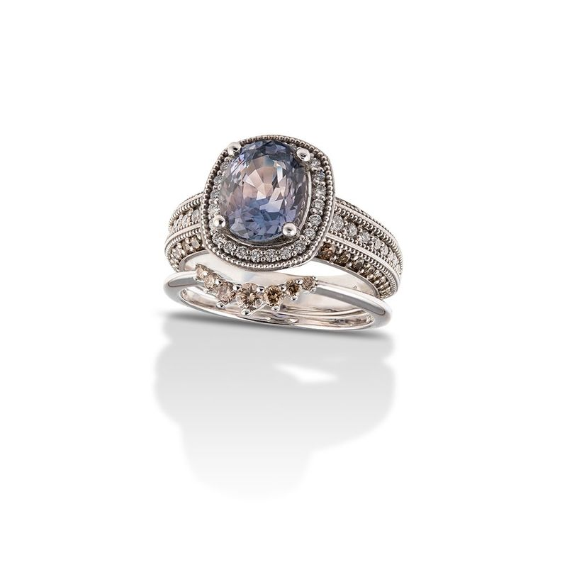 Beautifully Stackable Engagement Rings - Erin Tracy's Bridal Jewelry Capsule is Ethereally Stunning (TrendHunter.com)