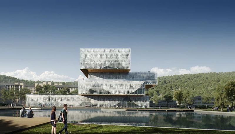 Semi-Transparent Stacked Universities