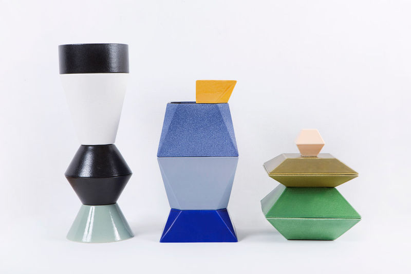 3D-Printed Stacking Ceramics
