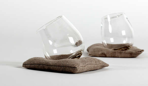 Pillow-Propped Tumblers