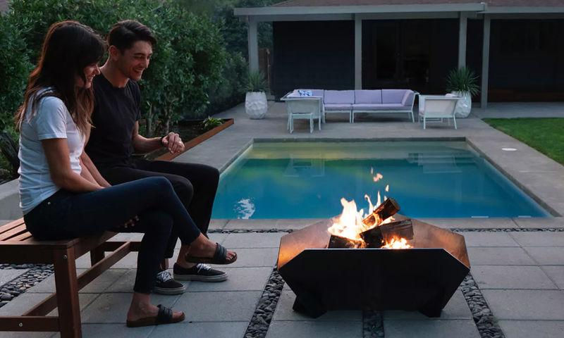 Interlocking Outdoor Fire Pits