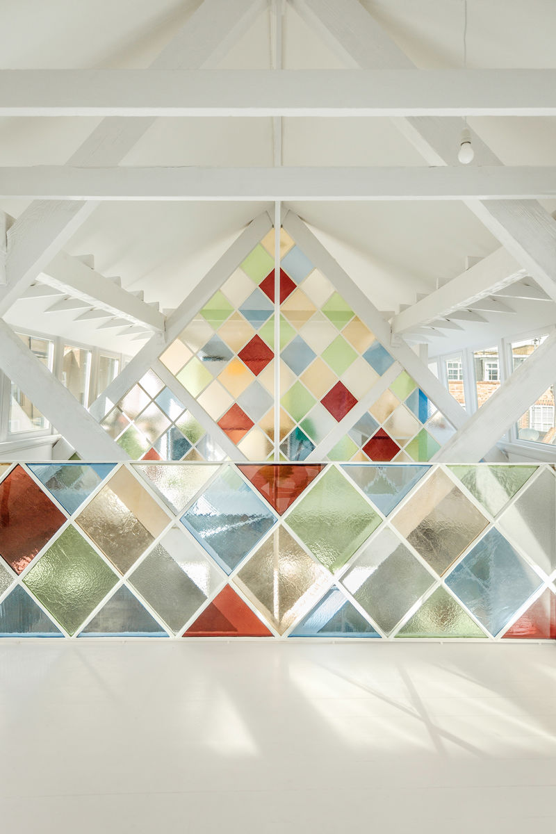 Kaleidoscopic Stained Glass Dividers