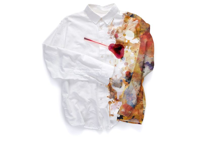 Stylish Stained Shirts