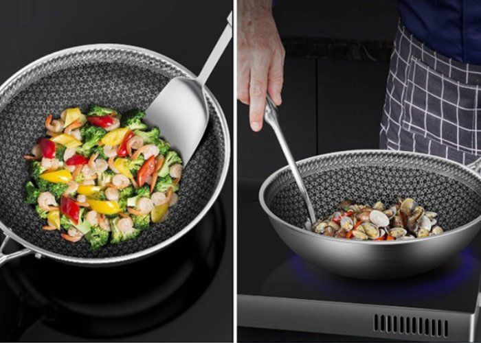 Seven-Layer Frying Pans
