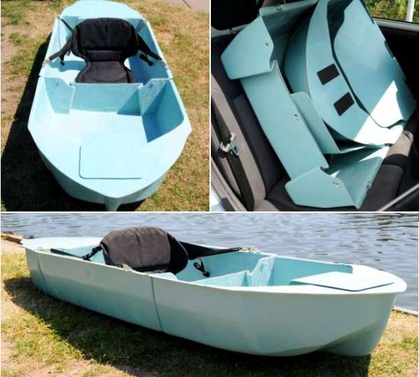 Conveniently Compact Canoes
