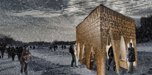 Cavernous Ice Rink Pavilions