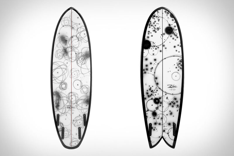 Graffiti Artist-designed Surfboards