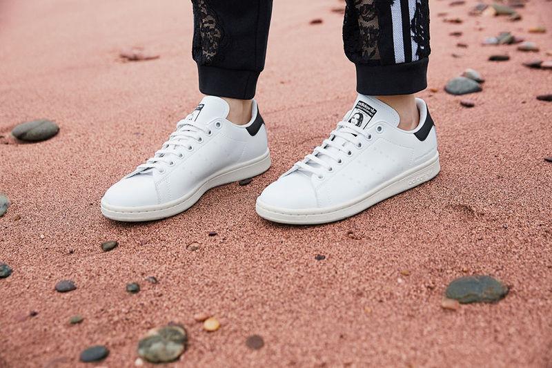 1488cd18160500 Recreated Vegan Leather Sneakers   Stan Smith Sneaker