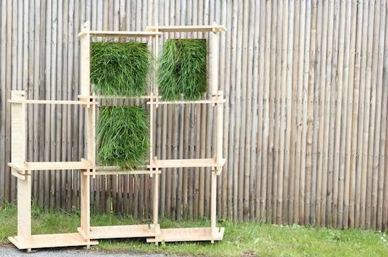 Slatted Herbage Storage