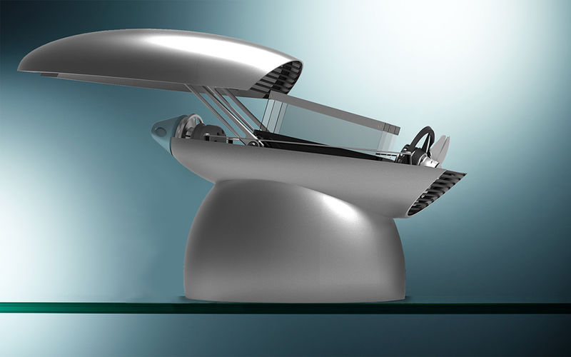 Futuristic Canopy Toasters