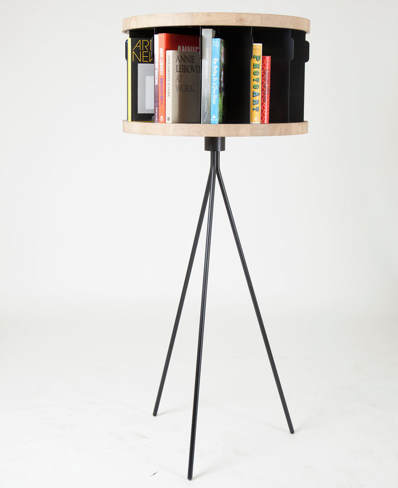 Rotating Book Tables