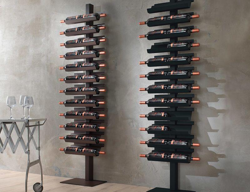 standing wine rack. Ultra-Modern Steel Wine Racks Standing Rack