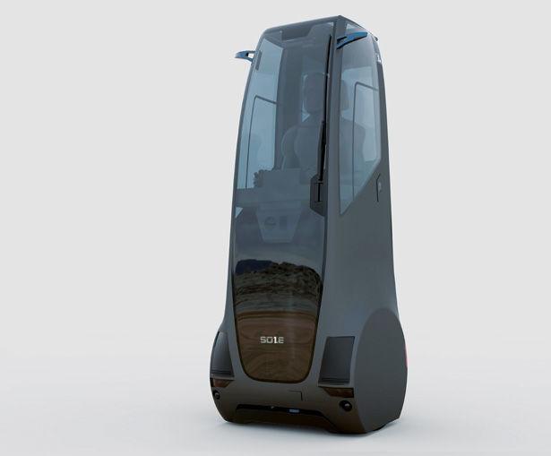 Single-Person Transportation Pods