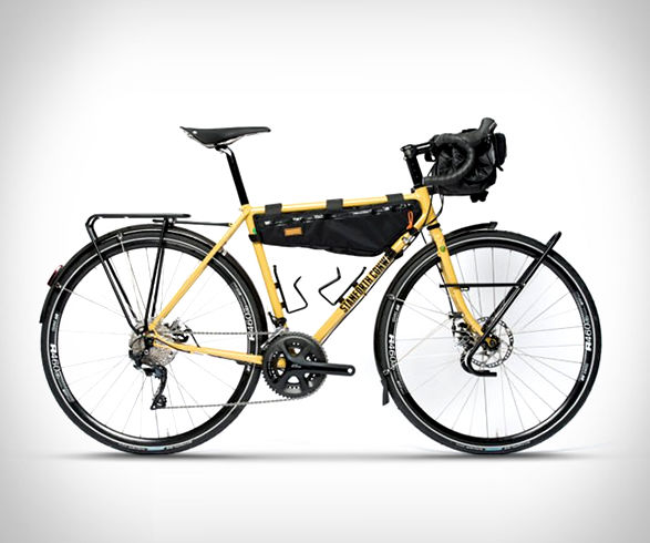 Rugged Travel-Ready Bicycles