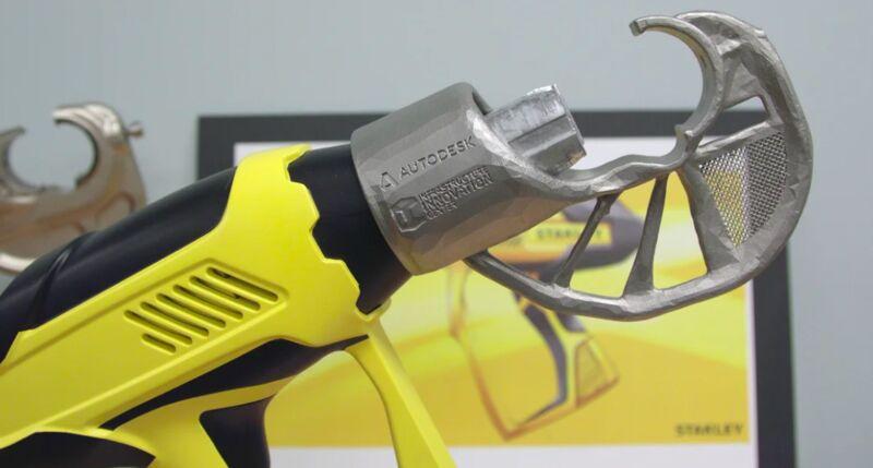 Generative-Designed Construction Tools