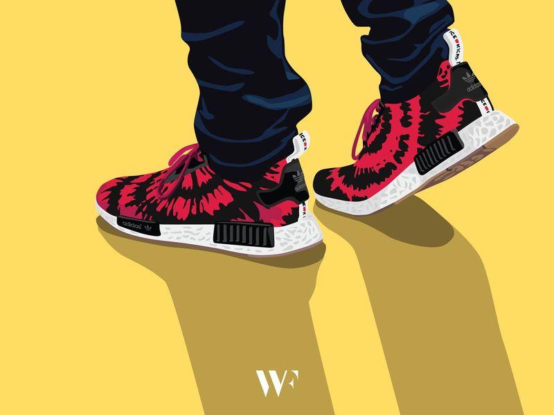 Minimalist Sneaker Art
