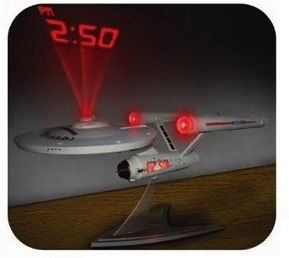 Starship Projection Clocks
