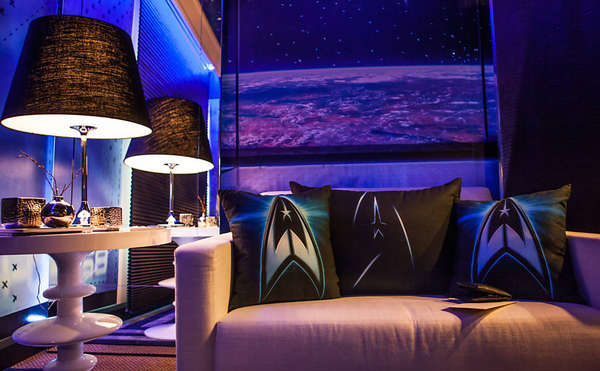 Movie Inspired Hotel Rooms Star Trek Hotel Room