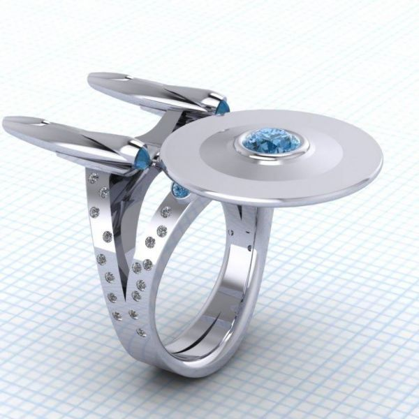 Spaceship-Inspired Jewelry