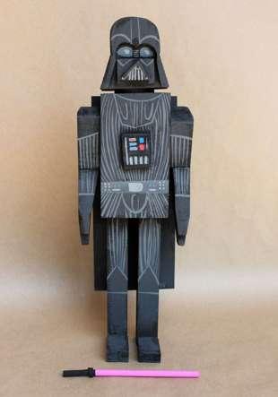 Sci-Fi Lumber Toys