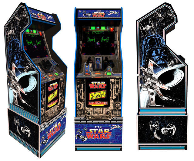 Retro Triology-Themed Arcade Games