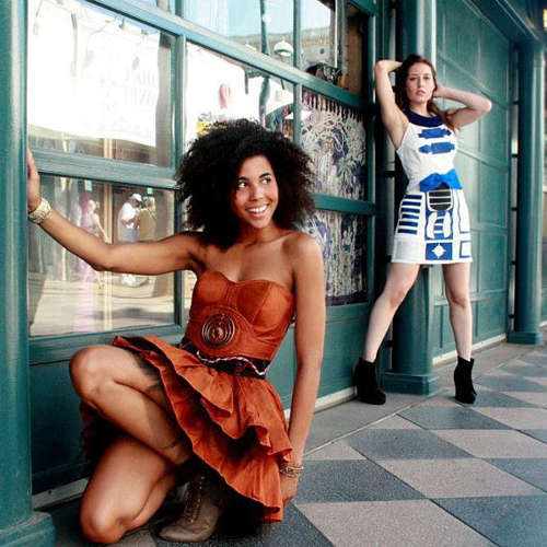 Intergalactic Droid Dresses