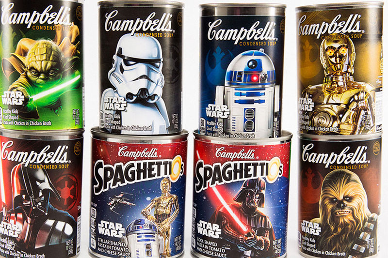 Galactic Soup Cans