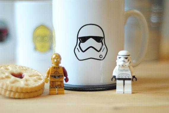 Minimalistic Sci-Fi Mugs