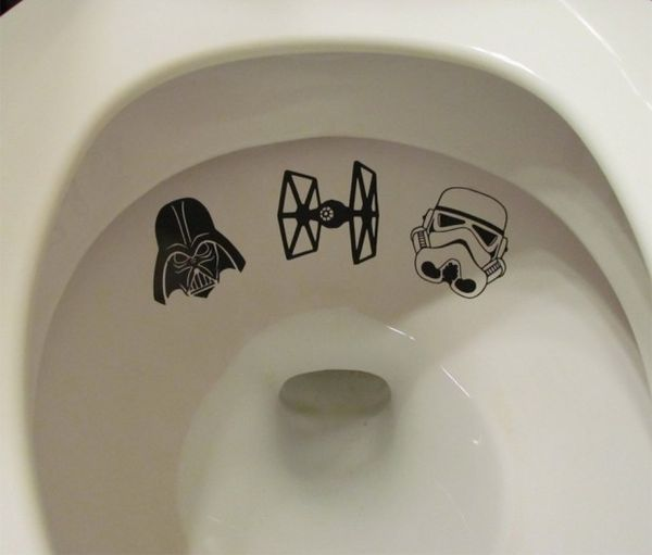 Sci-Fi Toilet Decals