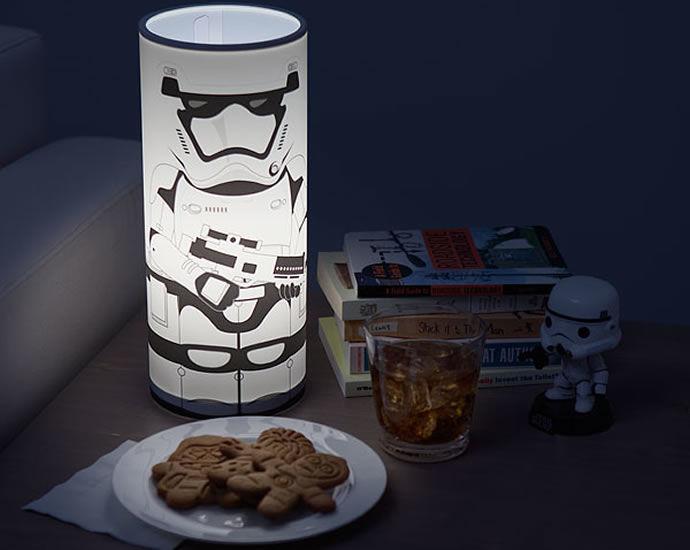 Sci-Fi Desk Lamps : star wars desk lamp