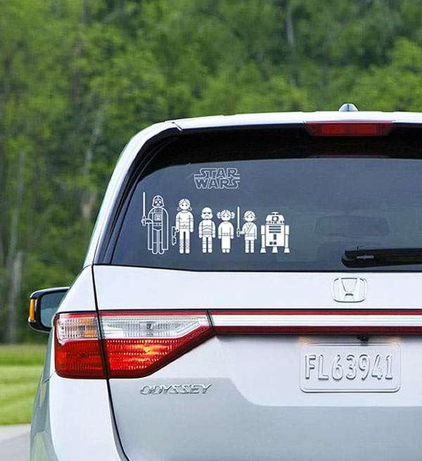 Sci-Fi Vehicle Stickers