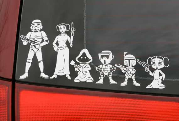 Sci-Fi Clan Stickers