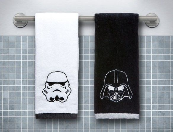 Dark Side Bathroom Decor