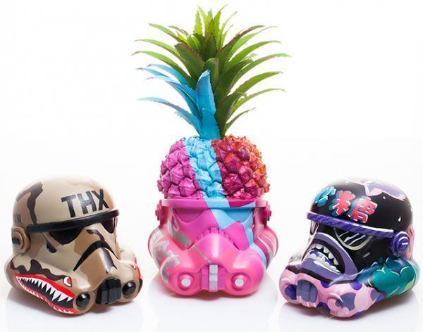 Artistic Stormtrooper Helmets