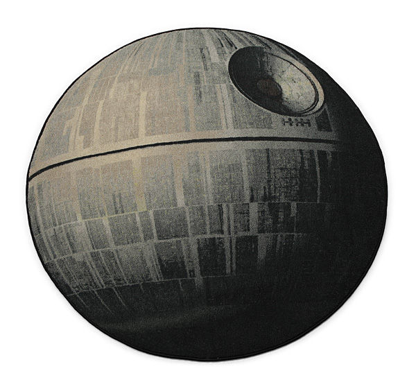 Circular Space Carpets Star Wars Rug