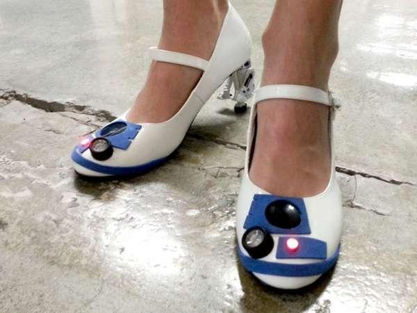 more photos 9e199 440cb Handmade Sci-Fi Heels