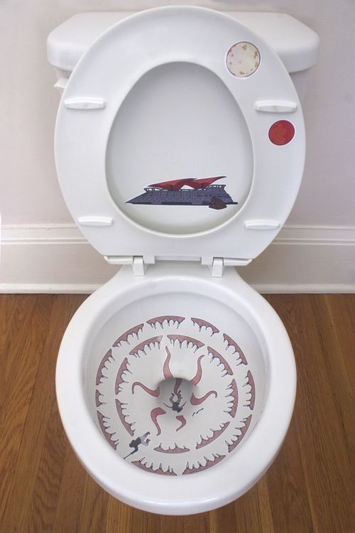 Galactic Toilet Art