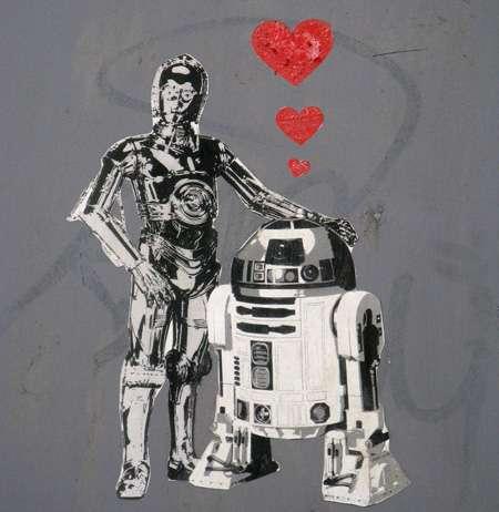 Wookie-Inspired Graffiti
