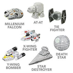 Galactic Spaceship Plushies
