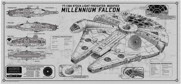 Commemorative Sci-Fi Plaques