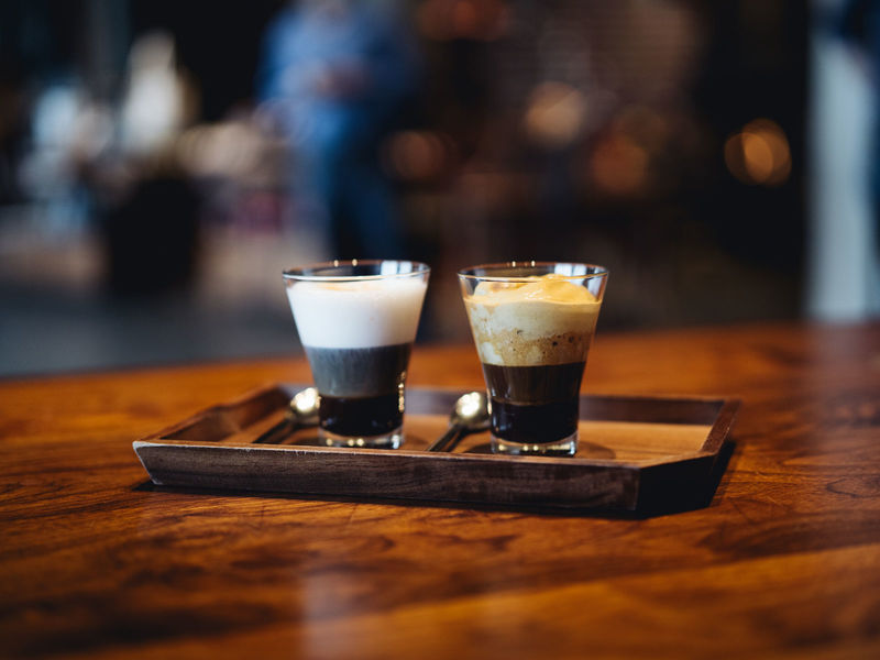 Layered Espresso Beverages