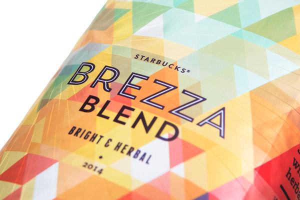 Kaleidoscopic Coffee Branding
