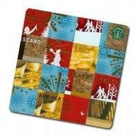 Starbucks Card Mosaic Coasters